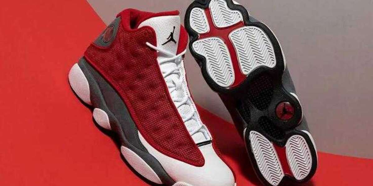 Where to buy New Drop Air Jordan 13 Red Flint ?