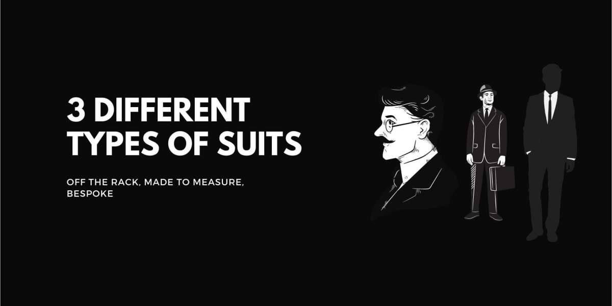 Different Types Of Suits | Off The Rack, Made To Measure, Bespoke